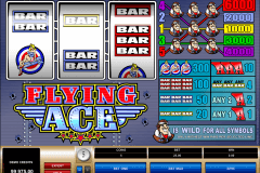 flying ace microgaming casino gokkasten