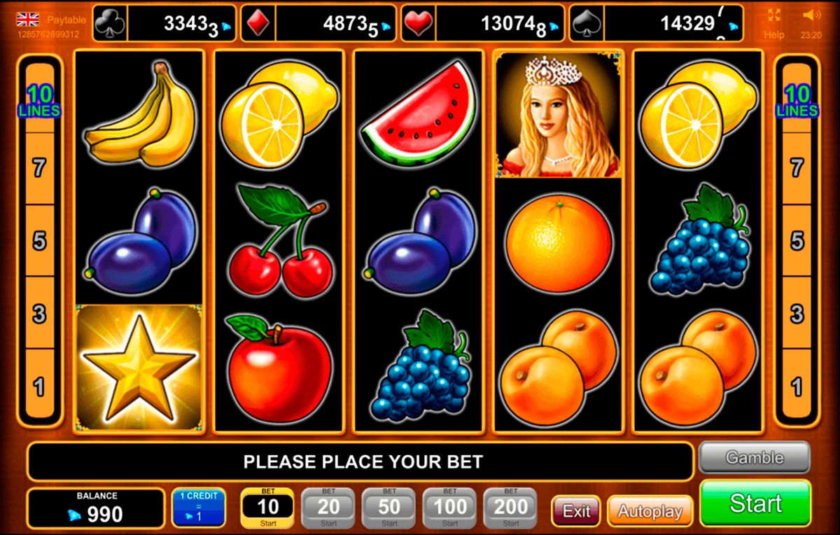 fruits kingdom egt casino gokkasten