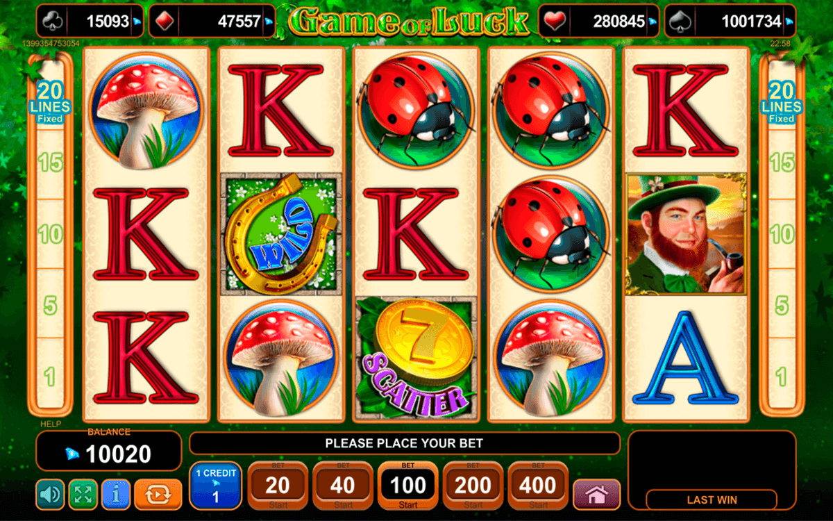 game of luck egt casino gokkasten