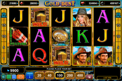 gold dust egt casino gokkasten