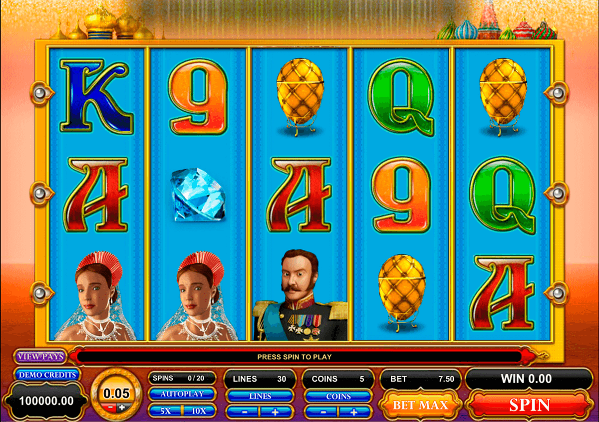 great czar microgaming casino gokkasten