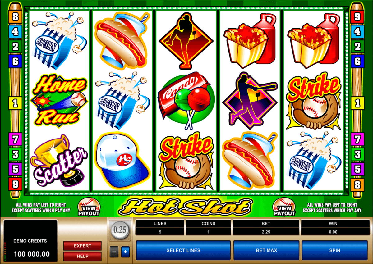 hot shot microgaming casino gokkasten