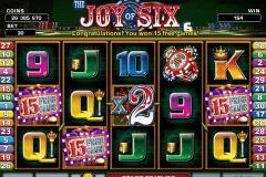 joy of six microgaming casino gokkasten