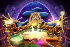 logo book of magic wazdan gokkast spelen