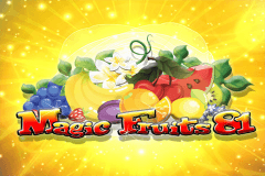 logo magic fruits 81 wazdan gokkast spelen