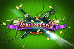 logo win and replay wazdan gokkast spelen