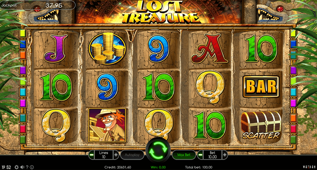 lost treasure wazdan casino gokkasten