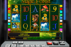 magic forest novomatic casino gokkasten