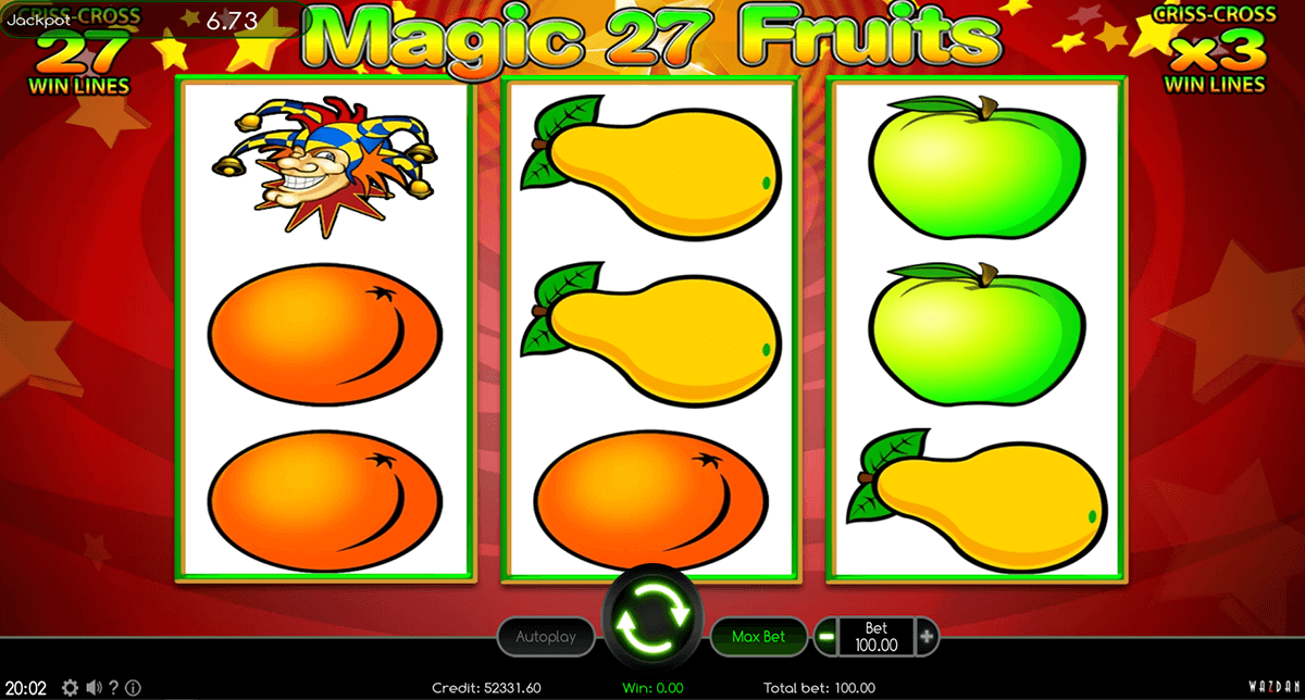 magic fruits 27 wazdan casino gokkasten
