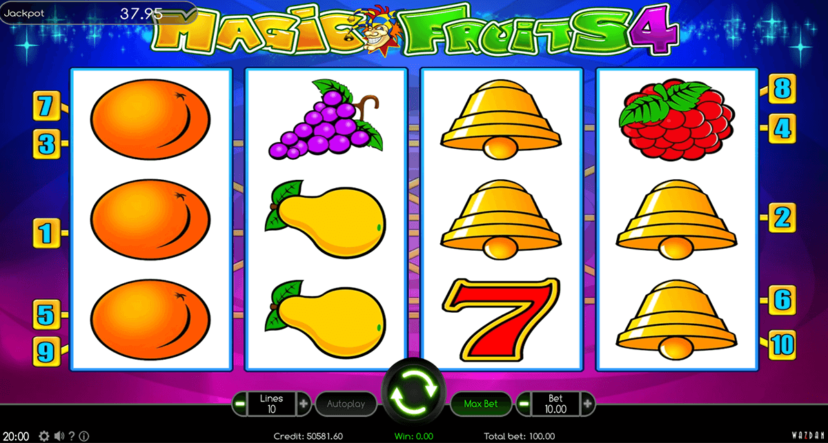 magic fruits 4 wazdan casino gokkasten