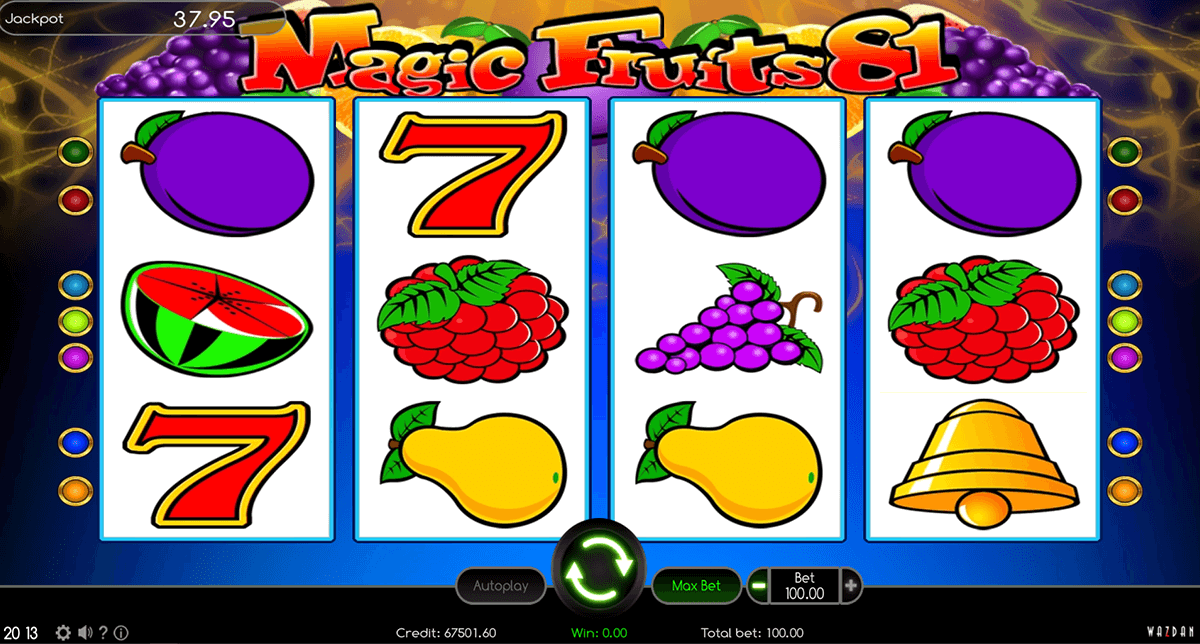 magic fruits 81 wazdan casino gokkasten