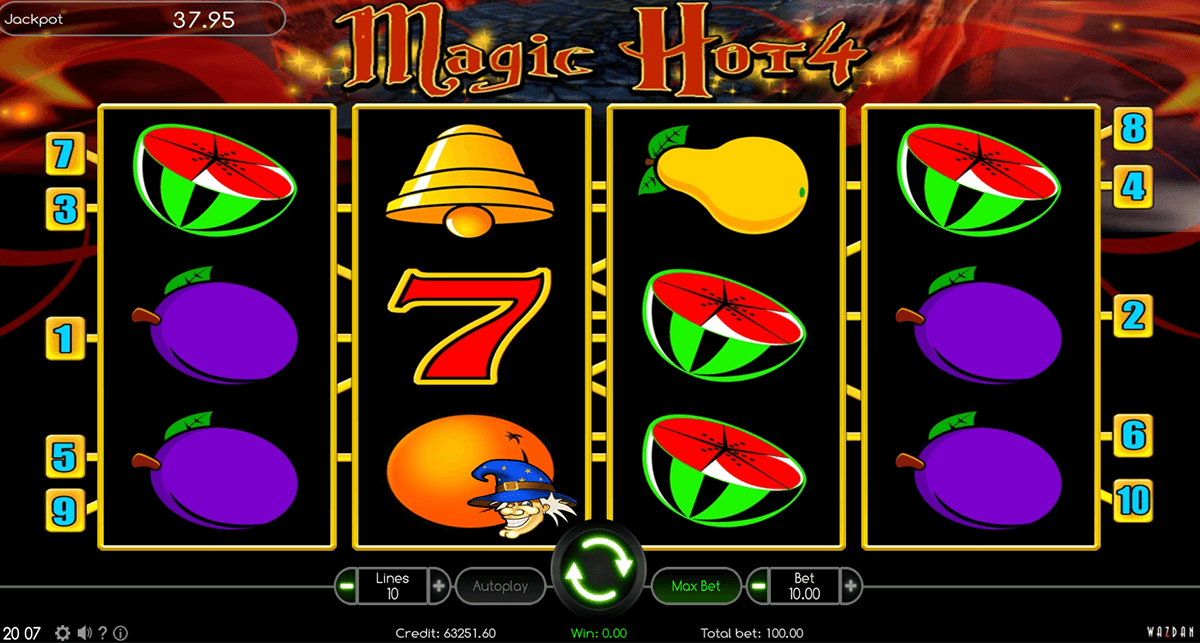 magic hot 4 wazdan casino gokkasten