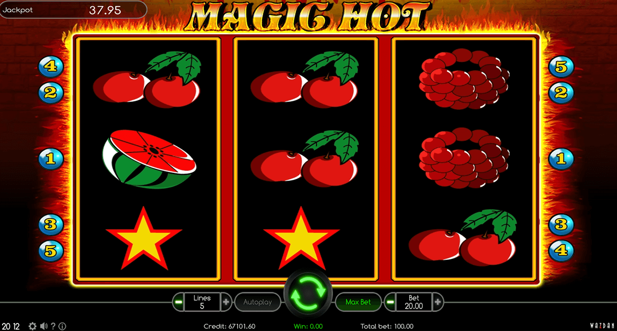 magic hot wazdan casino gokkasten