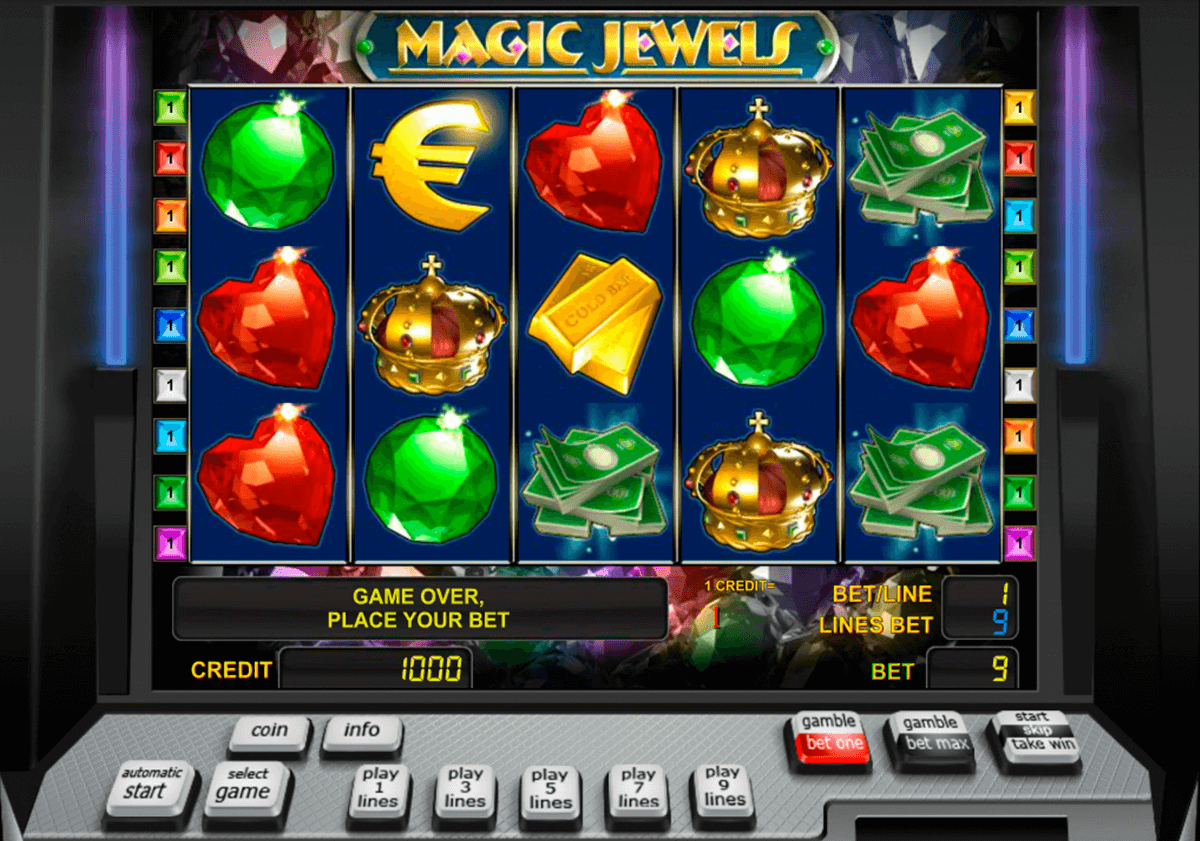 magic jewels novomatic casino gokkasten