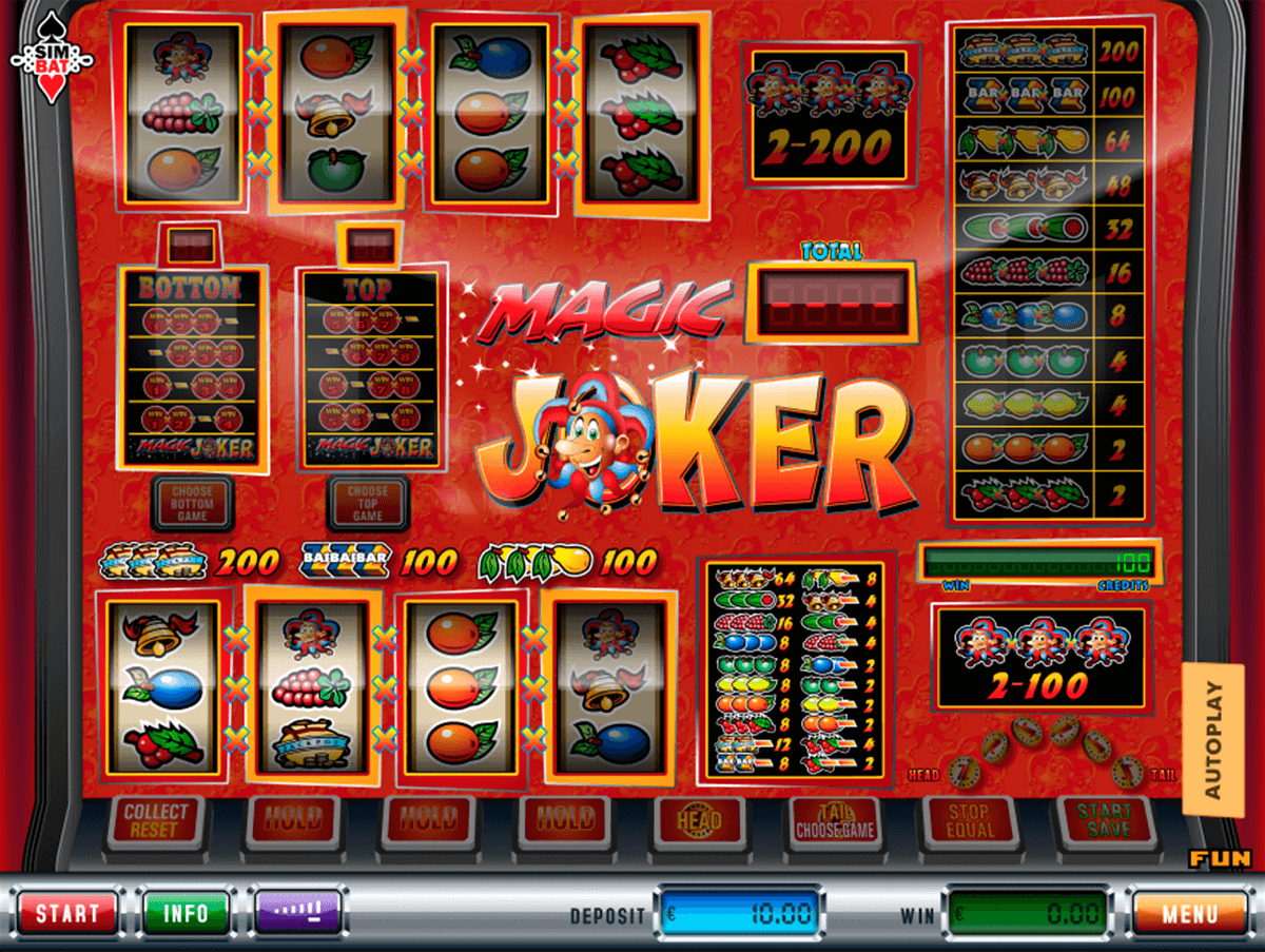 magic joker simbat casino gokkasten