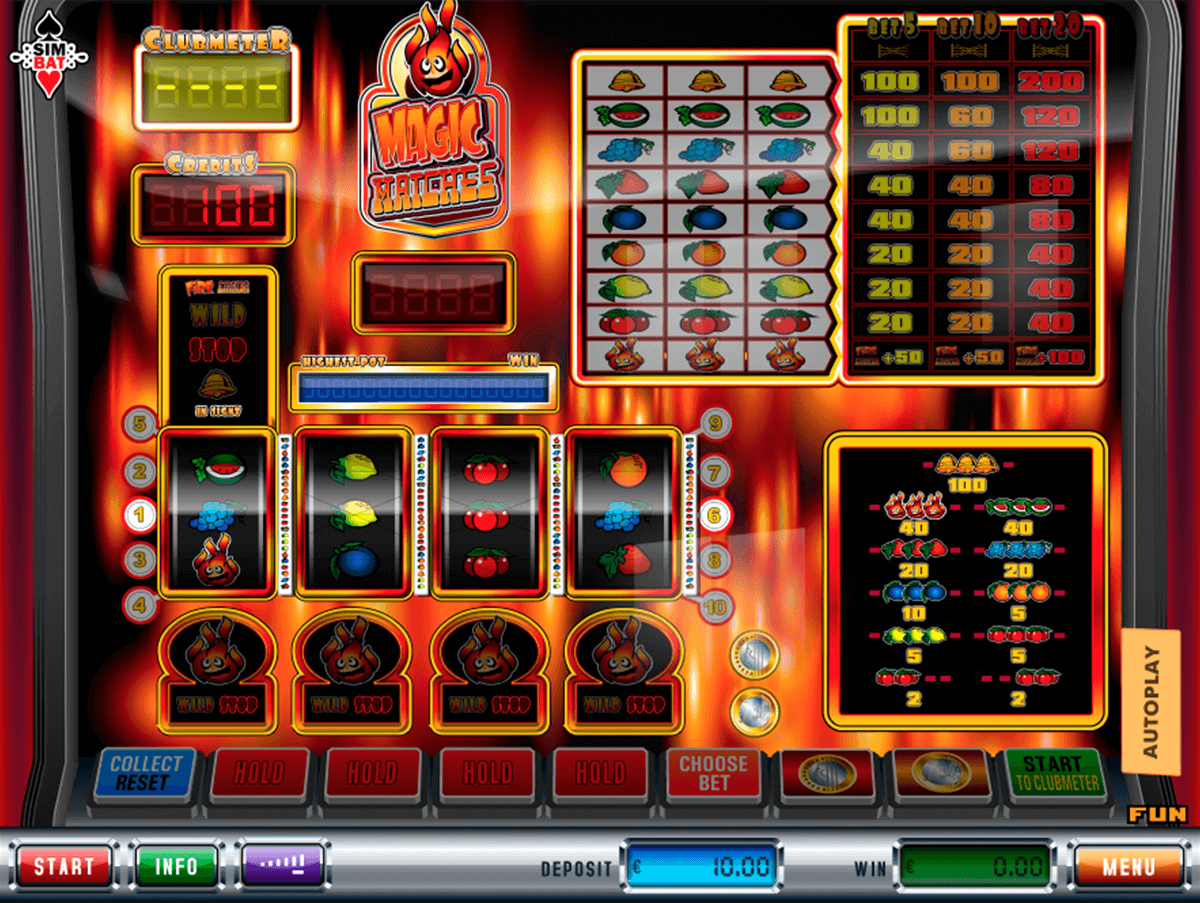 magic matches simbat casino gokkasten