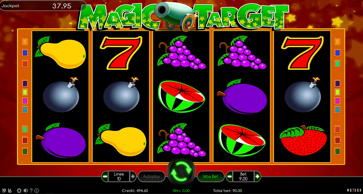 magic target wazdan casino gokkasten