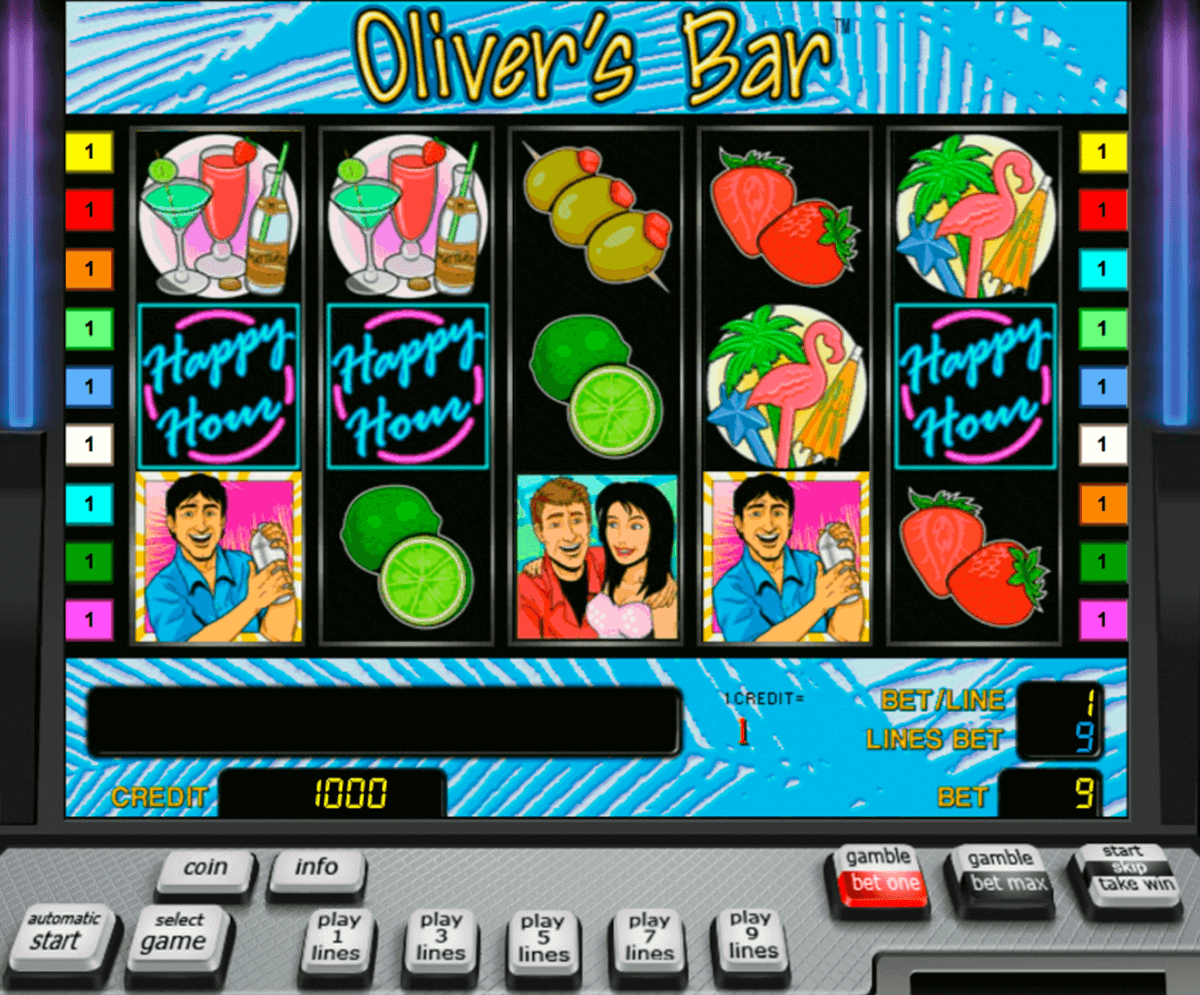 olivers bar novomatic casino gokkasten