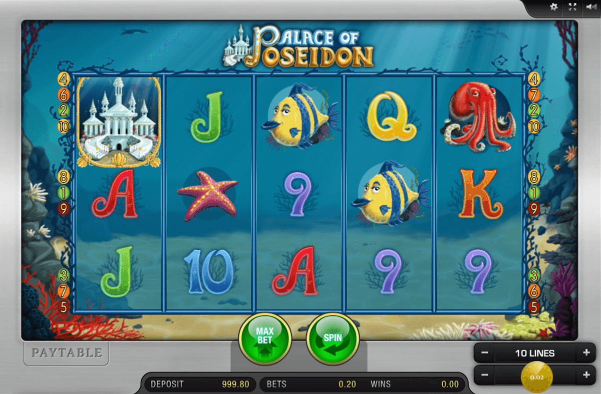Spiele Poseidon 3RS Slot - Video Slots Online