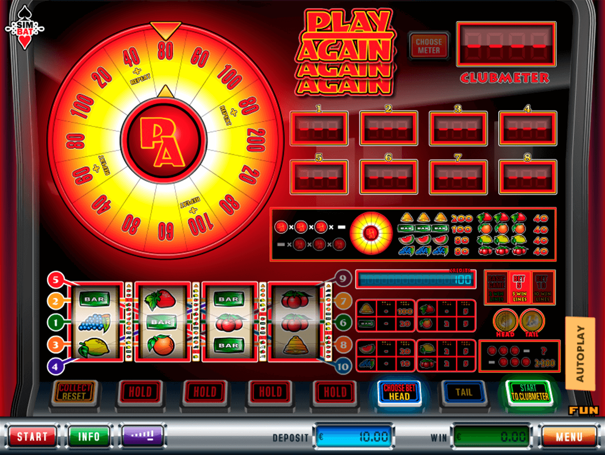 play again simbat casino gokkasten
