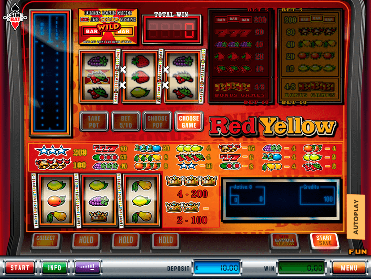 red yellow simbat casino gokkasten
