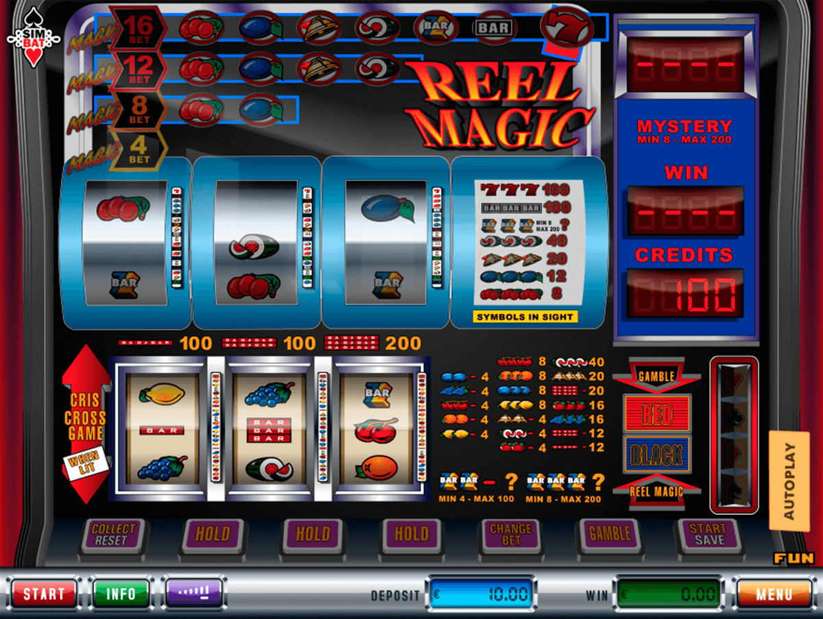 reel magic simbat casino gokkasten