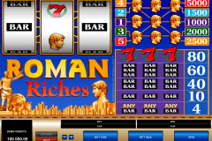 roman riches microgaming casino gokkasten