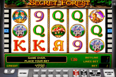 secret forest novomatic casino gokkasten 480x320