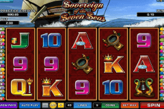 sovereign of the seven seas microgaming casino gokkasten