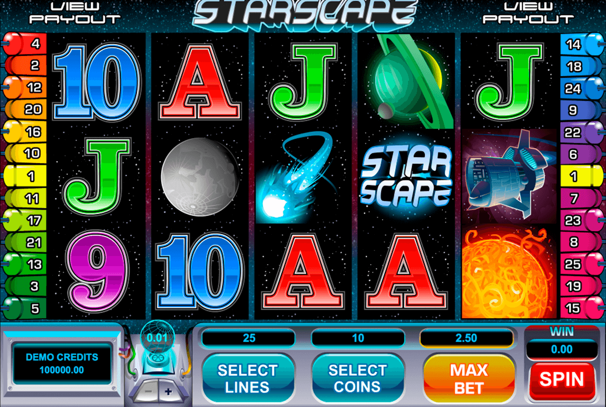 starscape microgaming casino gokkasten