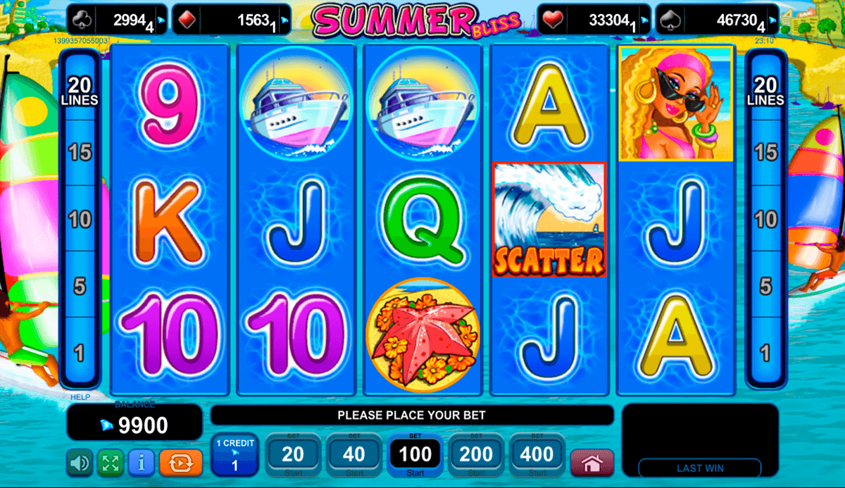 summer bliss egt casino gokkasten