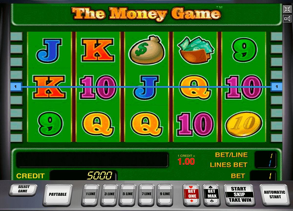the money game novomatic casino gokkasten