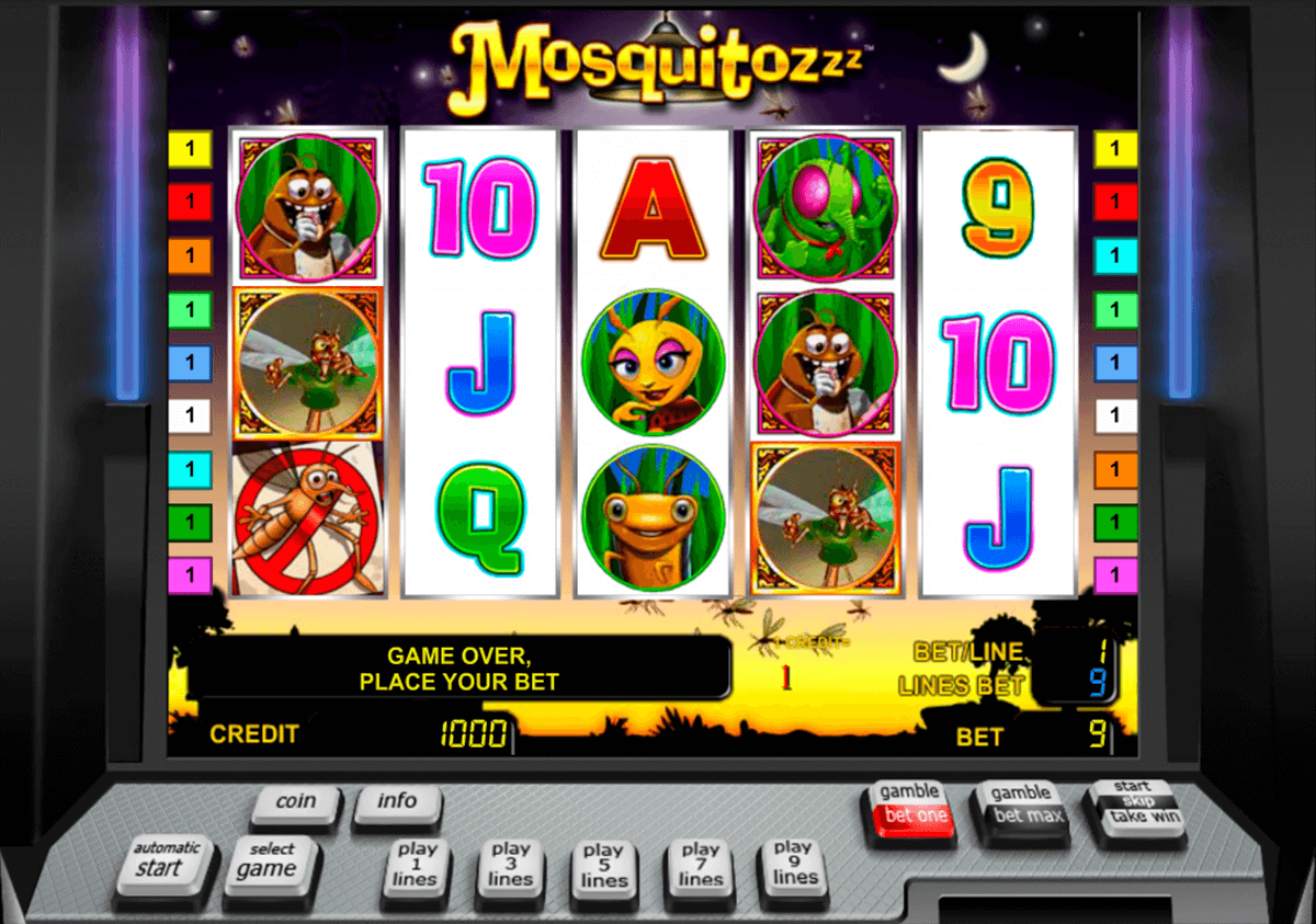 the mosquitozzz novomatic casino gokkasten