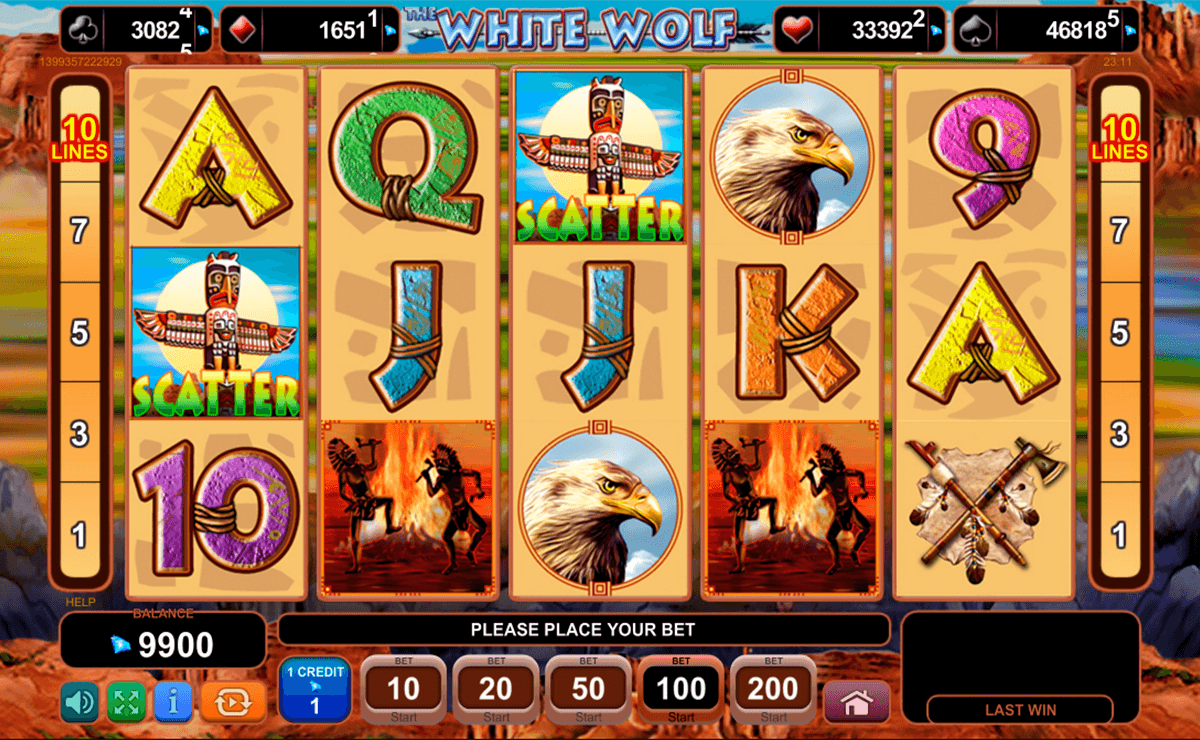 the white wolf egt casino gokkasten