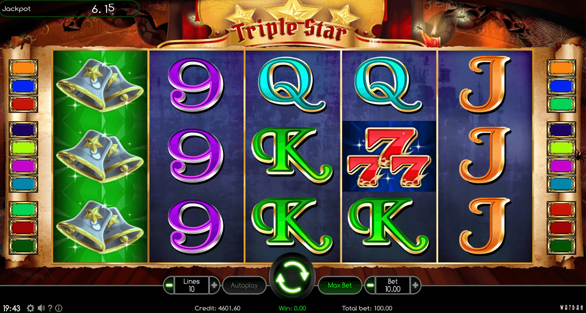triple star wazdan casino gokkasten