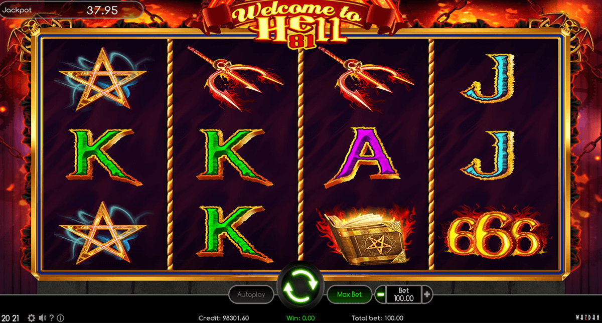 welcome to hell 81 wazdan casino gokkasten
